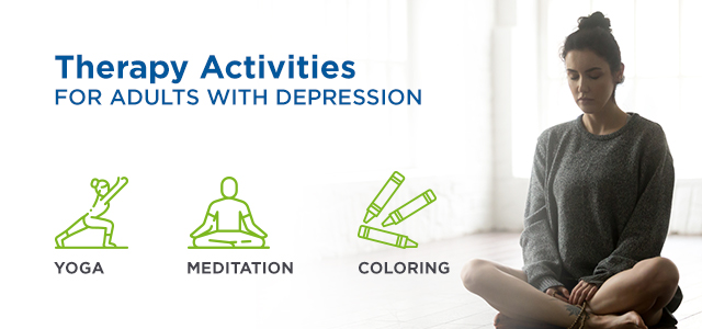 Therapy Activities for Adults with Depression