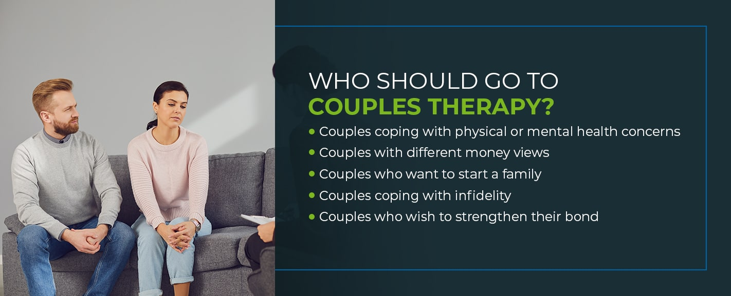 Who Should Go to Couples Therapy?